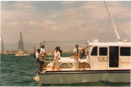 SOYC-032 VIA Crew and Maryanne Lineham
